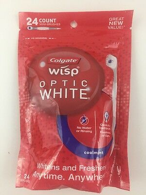 Colgate Wisp Optic White Coolmint Mini Brushes 24 Count