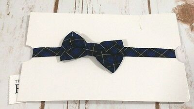 New Baby Boy Infant 6-18 Months THE CHILDRENS PLACE Plaid Poplin Dapper Bowtie