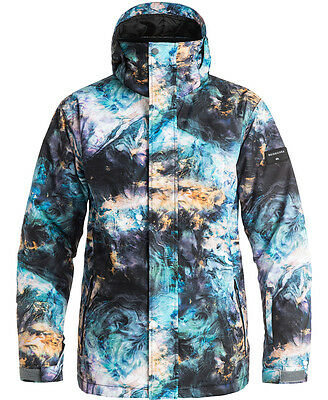 Quiksilver Mission Jacket Oil And Space