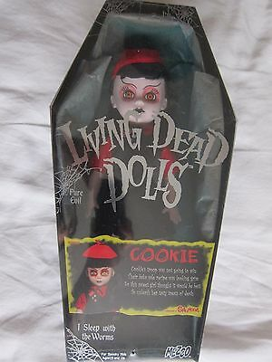 "Living Dead Doll 10"" Cookie 'Exclusive to Spencer Gifts' NIB"