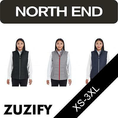 North End Ladies Engage Interactive Insulated Vest. NE702W