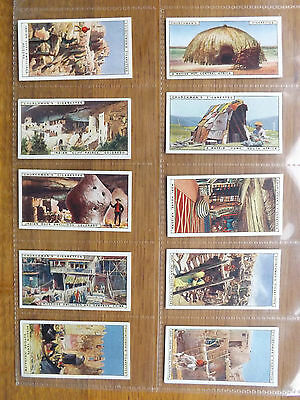 CURIOUS DWELLINGS - Complete Set of 25 - Churchmans - 1926 - EX/EX+