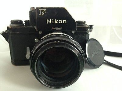 Nikon F with Photonic   Nikkor H 85mm 1.8