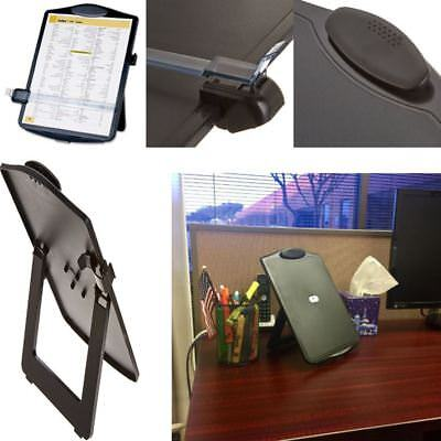 Document Holder With Magnifier Easel Adjustable Portable Clip Board Stands Paper