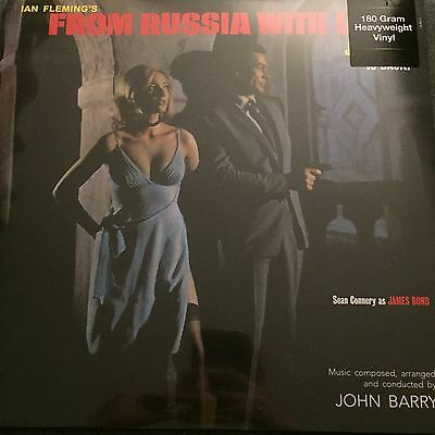 """John Barry James Bond """"from Russia With Love"""" Soundtrack New Sealed Vinyl Lp."""