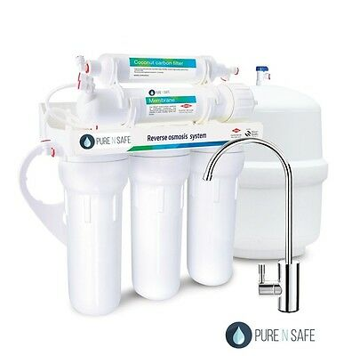 5 stages undersink RO reverse osmosis water filter system Made in Germany