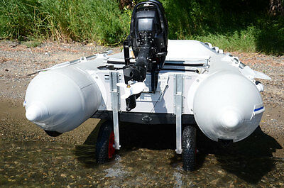 Launching Transom Wheels  for inflatable boats , aluminum boats , small boats