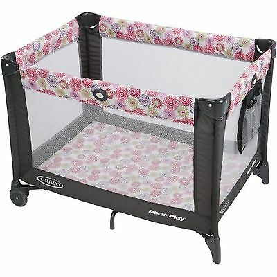 NEW Graco Pack 'n Play Playard On the Go with Folding Feet Livia *BRAND NEW*