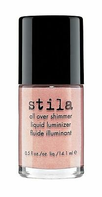 STILA all over shimmer liquid luminizer in rose gold shimmer - 14.1ml BOXED