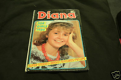 DIANA FOR GIRLS - ANNUAL BOOK - 1986 - Excellent Condition