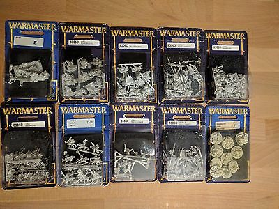 Warmaster Games Workshop - Orc & Goblin Army - BNIB OOP Sealed Blisters Rare New