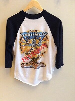 Vintage Triumph - Invasion Thunder Seven - World 7 Tour 3/4 sleeve shirt - Large