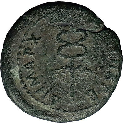 TRAJAN 98AD SEMIS of Rome for Antioch in Seleukis CADUCEUS Roman Coin i58664