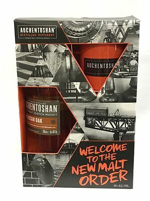 Auchentoshan American Oak Single Malt Scotch Whisky Gift Pack 700ml Whisky