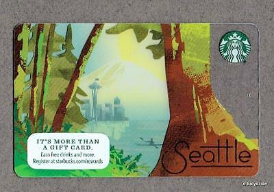 Restricted Release  New 2016 Seattle Starbucks Card  Read  Special Packaging