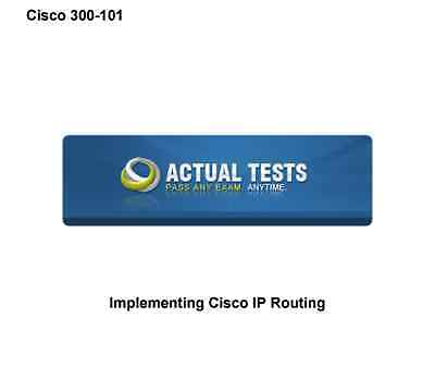 300-101: Implementing Cisco IP Routing .
