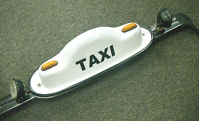 Old Taxi Roof Mounted Light Sign - Great for Man Cave