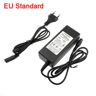 EU Power Adapter Charger For 2 Wheel Balance Scooter Hoverboard Swagway 42V 2A