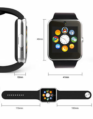 smart watch GT08 Bluetooth Smart Watch Touch Screen Phone Mate for Android iPhon
