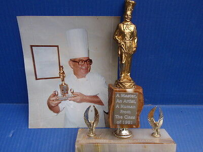 Vintage 1981 Chef Roland Chaton Trophy.... Clearwater,florida