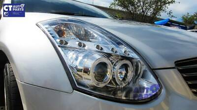LED DRL Angel Eyes Projector Head Lights NISSAN INFINITI G35 V35 350GT Coupe 2D