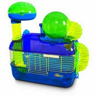 Super Pet CritterTrail Z Habitat, Mice Hamster Rat Cage Bottle Exercise Ball