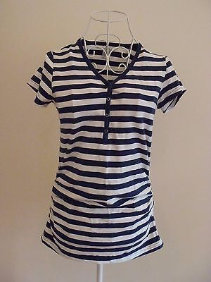 "Size 10 ""Bub2B"" Gorgeous Ladies Striped Maternity Top. Great Condition!"