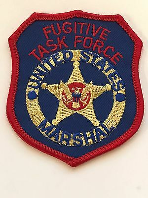 US Marshal's Fugitive Task Force Patch