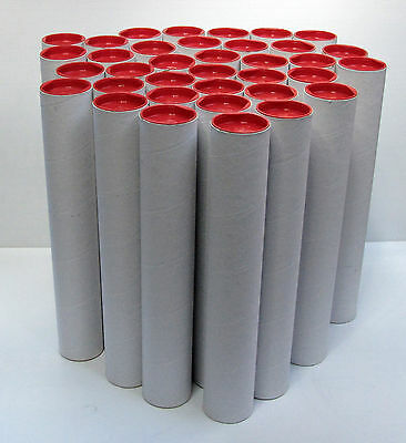 35 POSTER TUBES 60 X 380mm Very Clean Never Posted