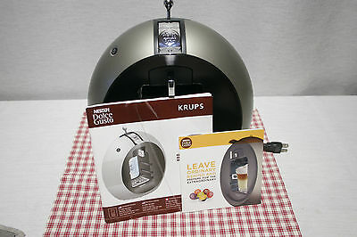 Nescafe DOLCE GUSTO Krups KP5009 CIRCOLO Coffee Maker Titanium. Tested, EXC!
