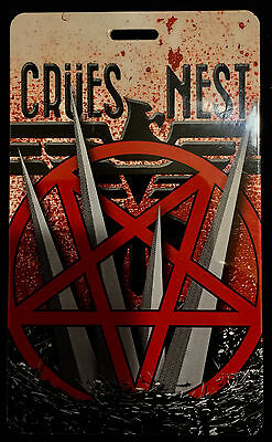 Motley Crue - Crues Nest Tour Laminate Backstage Pass - 2015 Final Tour ONE ONLY