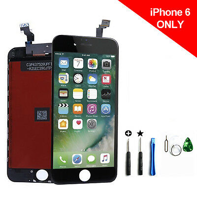 Black LCD Display+Touch Screen Digitizer Assembly Replacement For iPhone 6 ~!