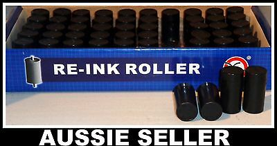 4 X Ink Rollers For Single Line Price Gun Labeller Label Maker MX-5500 20mm