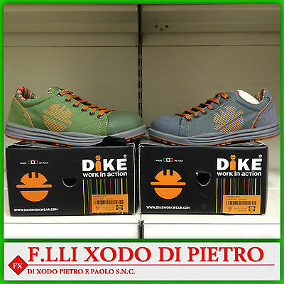 Scarpe working of security safety DIKE GARISH S1P - VARIOUS COLOURS