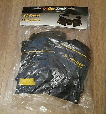 Am Tech Quality Tools 11 Pocket Tool Pouch