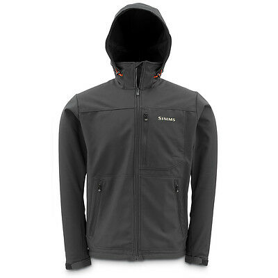 Simms Windstopper Hoody Black - (Fishing Wading Jackets)