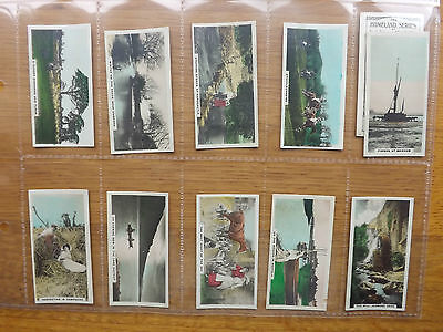 The HOMELAND SERIES - CAVANDERS - Full Set of 54+3Error Cards - 1924  - EX+