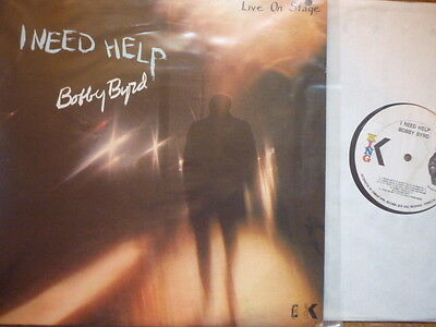 funk bobby byrd i need help live on stage  king usa orig lp 1118