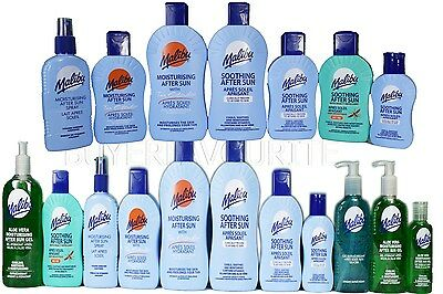 MALIBU COOLING SOOTHING AFTER SUN GELS SPRAYS & LOTIONS 400ml~ 200ml ~100ml SALE
