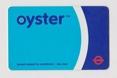 Early Oyster Card for transport London Underground red roundel - very,very RRR