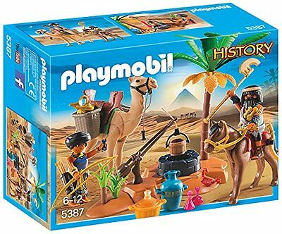 Playmobil History Tomb Raider's Camp 5387