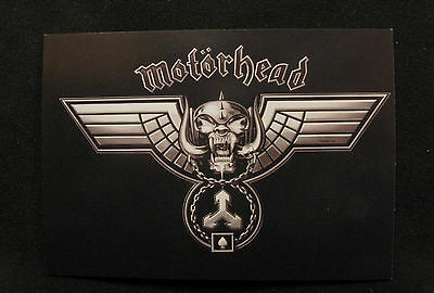 "Motorhead New Official Postcard Uk Import   ""Snaggletooth"""