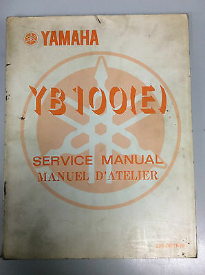 Yamaha Yb 100  Manual Genuine