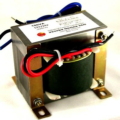 Transformer, Electrical, step-down 100VA 12/24V output, for foam cutting, etc.
