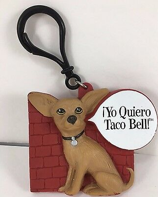 """""""Yo Quiero Taco Bell"""" Chihuahua Dog Plastic Coin Purse Clip by Applause"""