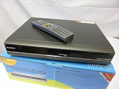 Humax PDR 9700 C Digital Twin Kabel Receiver DVB-C PVR 80 GB Festplatte Bware