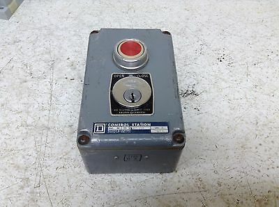 Square D 9001 KY-298 Open Close Stop Station 9001KY-298 9001KY298 KY298