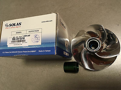 Elica SOLAS moto d'acqua SEA-DOO SRX-CD-13/18 Concord Impeller Stock Engine pwc