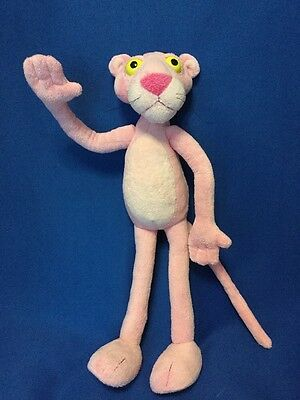 """17"""" Poseable Wired Bendable Bendy Pink Panther Plush Toy"""
