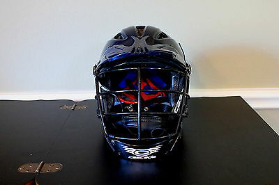 Cascade Lacrosse Helmet CLH2+ Plus Navy/Dark Blue Youth XXXS